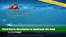 Read Books CAPM EXAM Simplified-5th Edition- (CAPM Exam Prep 2013 and PMP Exam Prep 2013