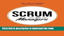 Read Books Scrum For Managers: Management Secrets To Building Agile   Results-Driven Organizations