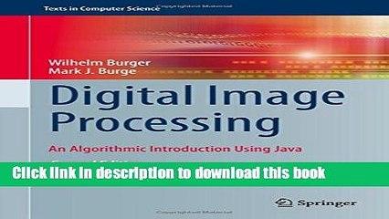 Read Books Digital Image Processing: An Algorithmic Introduction Using Java  E-Book Free