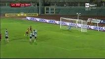 1-2 Cellini Penalty Goal Italy Coppa Italia Round 1 - 29.07.2016, Livorno Calcio 1-2 Juve Stabia