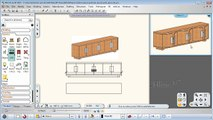 ARCHLine.XP Tutorial: Modelling Furniture - Sideboard with doors - Part 1/5
