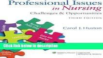 Books Professional Issues in Nursing: Challenges and Opportunities Free Download