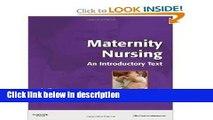 Ebook Maternity Nursing: An Introductory Text, 11e (MATERNITY NURSINGAN INTRODUCTORY TEXT