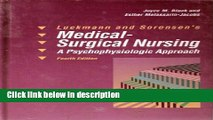Books Luckmann and Sorensen s Medical-Surgical Nursing: A Psychophysiologic Approach Full Download