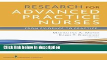 Ebook Research for Advanced Practice Nurses: From Evidence to Practice Full Online