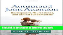 Ebook Autism and Joint Attention: Development, Neuroscience, and Clinical Fundamentals Free Online