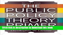 [Read PDF] The Public Policy Theory Primer Ebook Online