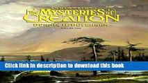 Read Books Unlocking Mysteries of Creation PDF Free