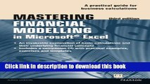 Books Mastering Financial Modelling in Microsoft Excel 3rd edn: A Practitioner s Guide to Applied