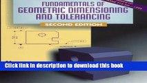 Read Fundamentals of Geometric Dimensioning and Tolerancing Ebook Free