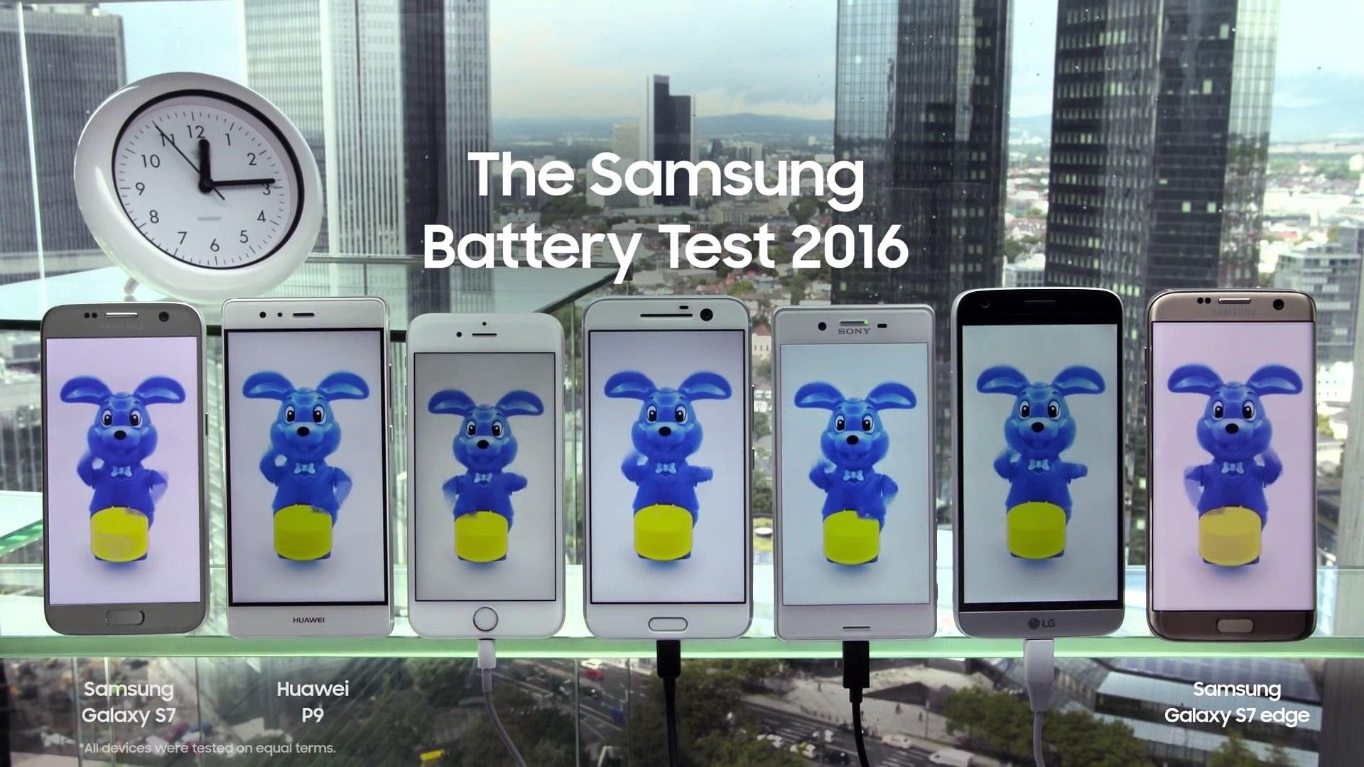 Tests de batteries Samsung contre Apple.. qui perd ?