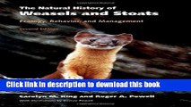 Read Books The Natural History of Weasels and Stoats: Ecology, Behavior, and Management E-Book Free
