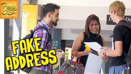 Fake Address Prank | Funny Reactions | Prank Asia