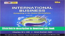Ebook International Business: Competing in the Global Marketplace - International Economy Edition