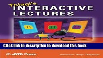 Books Thiagi s Interactive Lectures: Power Up Your Training With Interactive Games and Exercises
