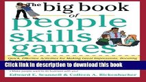 Books The Big Book of People Skills Games: Quick, Effective Activities for Making Great