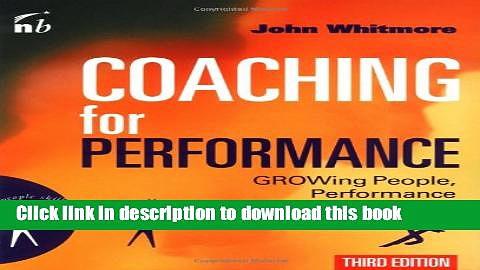 Books Coaching for Performance (People Skills for Professionals) Free Online