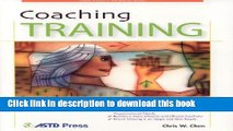 Books Coaching Training (ASTD Trainer s Workshop Series) Free Download