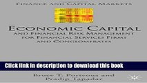 [Read PDF] Economic Capital and Financial Risk Management for Financial Services Firms and