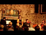 Concert de l'Ensemble Zeste à Aragnouet (65) le 26 juillet 2016 pour le Festival des petites églises de montagne