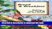 Books Bread   Breakfast Baking Low Carb II Full Online