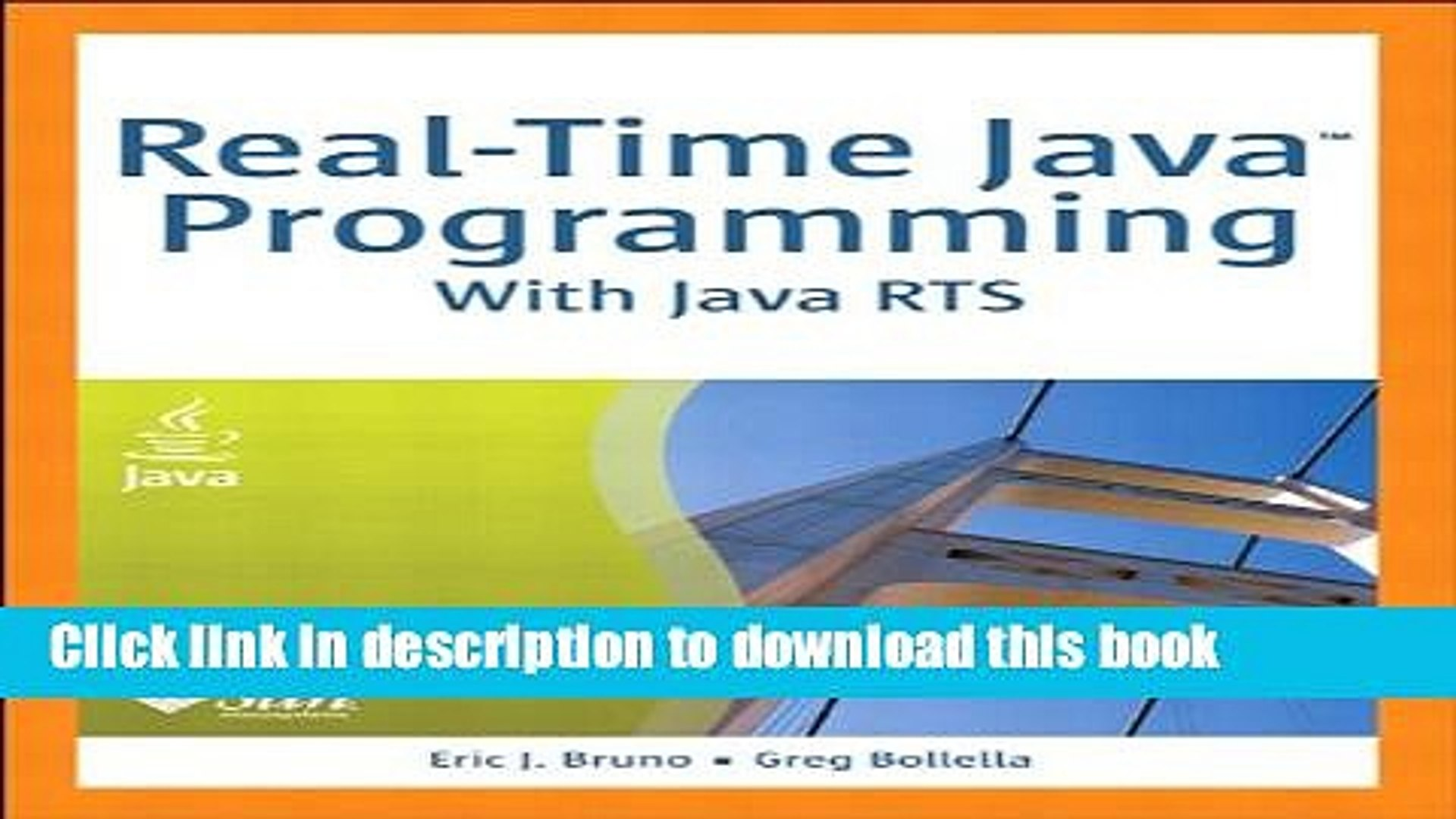 Books Real-Time Java Programming: With Java RTS Free Download