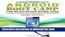 Books Android Boot Camp for Developers Using Java®: A Guide to Creating Your First Android Apps