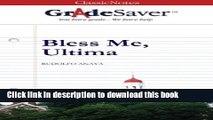 Ebook GradeSaver (TM) ClassicNotes Bless Me, Ultima: Study Guide Full Online