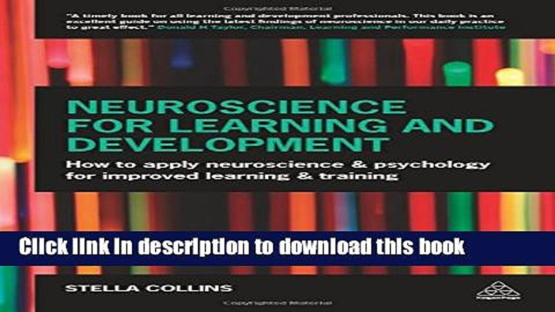 Books Neuroscience for Learning and Development: How to Apply Neuroscience and Psychology for