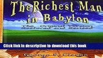 Ebook Richest Man in Babylon Full Online