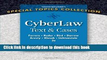 Ebook CyberLaw: Text and Cases Free Online