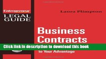 Ebook Business Contracts : Turn Any Business Contract to Your Advantage Full Online