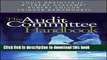 Books The Audit Committee Handbook Free Online