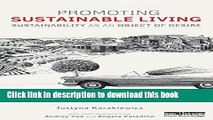 Books Promoting Sustainable Living: Sustainability as an Object of Desire Full Online