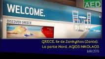GRECE 2016. Part 04. Ile de Zante.Le NORD. Agios Nikolaos (Hd 1080)