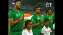 Shafqat Amanat Ali singing National Anthem Of Pakistan in T20 Worldcup 2016 In india - YouTube