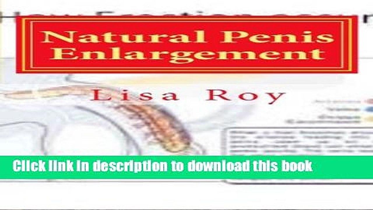 Enlargement natural penis The Top