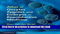 Ebook Atlas of Oocytes, Zygotes and Embryos in Reproductive Medicine Hardback with CD-ROM Full