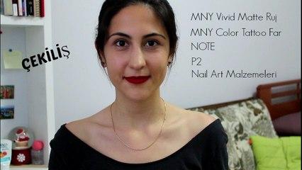 Çekiliş | MNY, NOTE, P2, Nail Art Malzemeleri