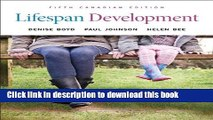 Ebook Lifespan Development, Fifth Canadian Edition Plus MyPsychLab with Pearson eText -- Access
