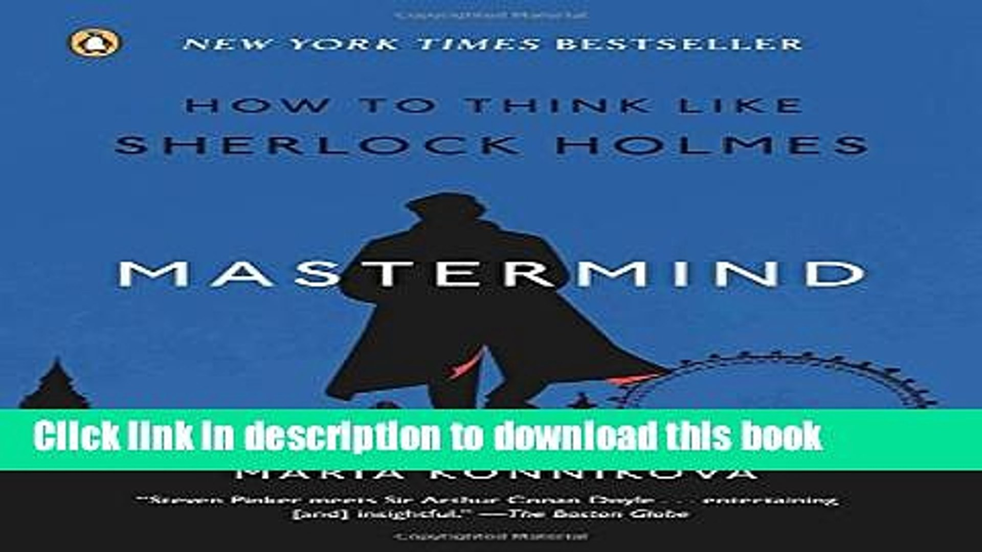 Books Mastermind: How to Think Like Sherlock Holmes Full Download