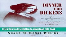 Books Dinner for Dickens.: The culinary history of Mrs Charles Dickens s menu books Free Online