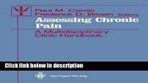 Ebook Assessing Chronic Pain: A Multidisciplinary Clinic Handbook (Contributions to Psychology and