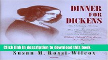 Books Dinner for Dickens: The Culinary History of Mrs Charles Dickens  Menu Books by Rossi-Wilcox,
