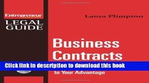 Books Business Contracts : Turn Any Business Contract to Your Advantage Free Online