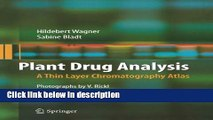 Books Plant Drug Analysis: A Thin Layer Chromatography Atlas Free Download