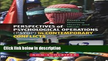 Books Perspectives of Psychological Operations (PSYOP) in Contemporary Conflicts: Essays in