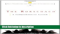 Ebook The Rorschach, Basic Foundations and Principles of Interpretation Volume 1 Free Online