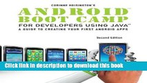 Books Android Boot Camp for Developers using Java: A Guide to Creating Your First Android Apps