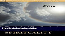 Books The Oxford Handbook of Psychology and Spirituality (Oxford Library of Psychology) Full